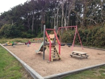 Kommunala lekplatsen efter uppgradering