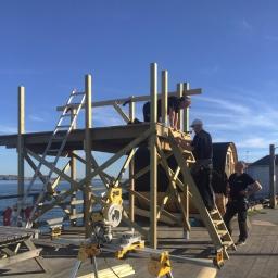Nytt hopptorn - 4 meter högt